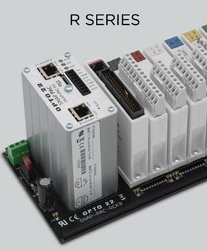 Opto 22's R Series rack mounted controllers